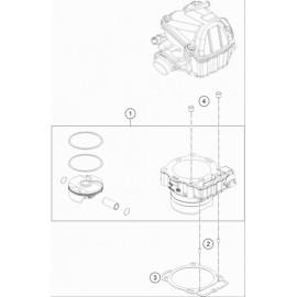 Cylindre ( Husqvarna FE 450 2018 )