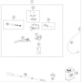 Cylindre de frein avant ( Husqvarna TE 300 2020 )