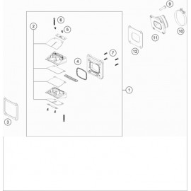 Boîte à clapets ( Husqvarna TE 300 2020 )