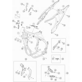 Cadre ( Husqvarna FE 501 2020 )
