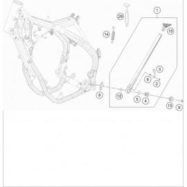 Béquille Latérale / Centrale ( Husqvarna FE 501 2020 )