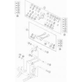 Biellette ( Husqvarna FE 501 2020 )