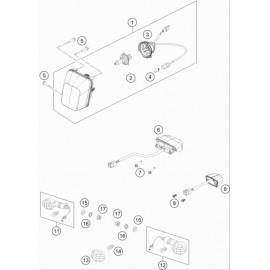 Eclairage ( Husqvarna FE 501 2020 )