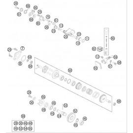 Valves d'échappement ( Husqvarna TC 85 17/14 2014 )