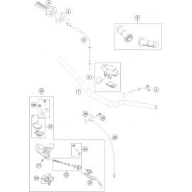 Guidon, Commandes ( Husqvarna TC 85 19/16 2014 )
