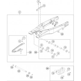 Bras oscillant ( Husqvarna TC 250 2014 )