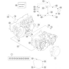 Carter moteur ( Husqvarna TC 250 2014 )