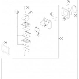Boîte à clapets ( Husqvarna TC 250 2014 )