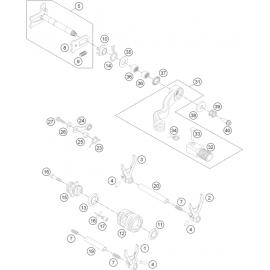 Mécanisme Chgt vitesse ( Husqvarna TC 250 2014 )