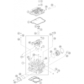 Culasse ( Husqvarna FC 250 2014 )
