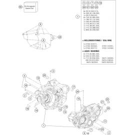 Carter moteur ( Husqvarna FC 350 2014 )