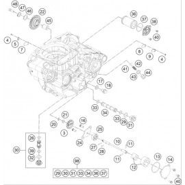 pompe à huile ( Husqvarna FC 450 2014 )