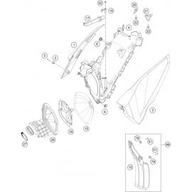 Filtre à air ( Husqvarna FC 450 2015 )