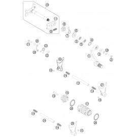 Mécanisme Chgt vitesse ( Husqvarna FC 450 2015 )