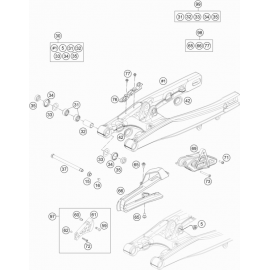 Bras oscillant ( Husqvarna TC 85 19/16 2016 )