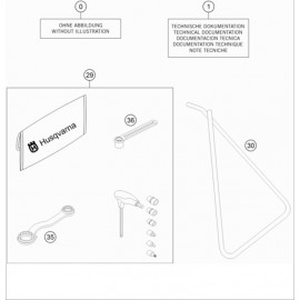 Kit accessoire ( Husqvarna TC 50 2017 )