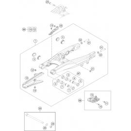 Bras oscillant ( Husqvarna TC 65 2017 )