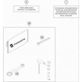 Kit accessoire ( Husqvarna TC 65 2017 )