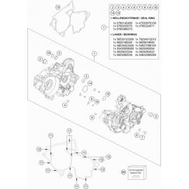 Carter moteur ( Husqvarna TC 250 2017 )