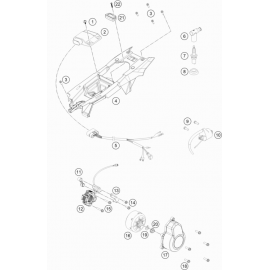 Allumage ( Husqvarna TC 85 17/14 2018 )