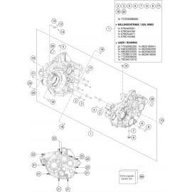 Carter moteur ( Husqvarna FC 250 2018 )