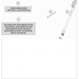 Kit accessoire ( Husqvarna FC 450 2018 )
