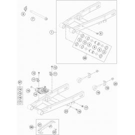 Bras oscillant ( Husqvarna TC 50 2019 )