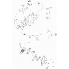 Allumage ( Husqvarna TC 85 17/14 2020 )