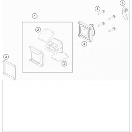 Boîte à clapets ( Husqvarna TC 85 19/16 2020 )