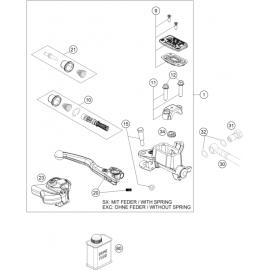 Cylindre de frein avant ( Husqvarna TC 125 2020 )