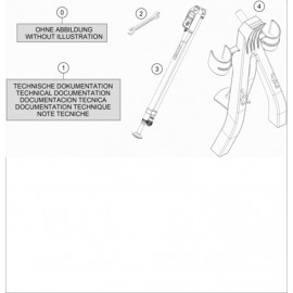 Kit accessoire ( Husqvarna TC 125 2020 )