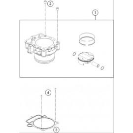 Cylindre ( Husqvarna FC 350 2020 )