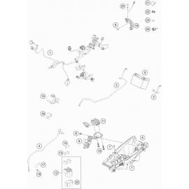 Cables, Faisceaux ( Husqvarna FC 450 2020 )