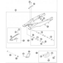 Bras oscillant ( Husqvarna FS 450 2015 )
