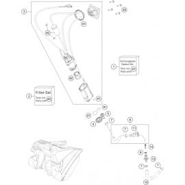 Pompe à essence ( Husqvarna FS 450 2015 )