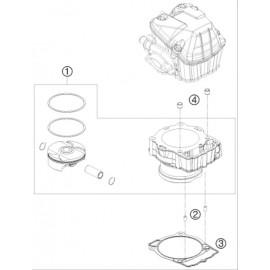 Cylindre ( Husqvarna FS 450 2015 )