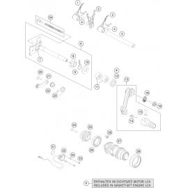 Mécanisme Chgt vitesse ( Husqvarna SUPERMOTO 701 2016 )