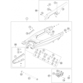 Bras oscillant ( Husqvarna ENDURO 701 2016 )