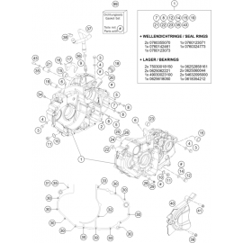Carter moteur ( Husqvarna ENDURO 701 2016 )