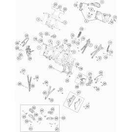 Cadre ( Husqvarna SUPERMOTO 701 2018 )