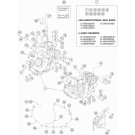 Carter moteur ( Husqvarna SUPERMOTO 701 2018 )