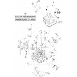 Culasse ( Husqvarna ENDURO 701 2018 )