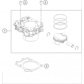 Cylindre ( Husqvarna VITPILEN 401 2018 )