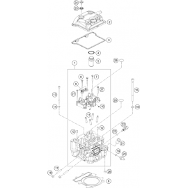 Culasse ( Husqvarna VITPILEN 401 2018 )