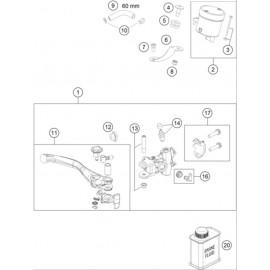 Cylindre de frein avant ( Husqvarna FS 450 2020 )