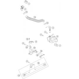 pompe à huile ( KTM 250 EXC-TPI 2018 )