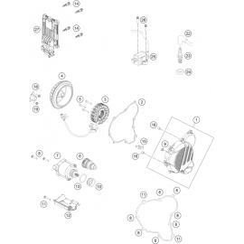 Allumage ( KTM 250 EXC-TPI 2018 )