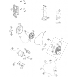 Allumage ( KTM 250 EXC-TPI-Six-Days 2018 )