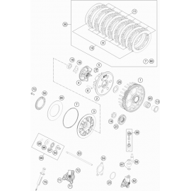 Embrayage ( KTM 250 EXC-F 2018 )