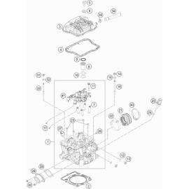 Culasse ( KTM 350 EXC-F 2018 )
